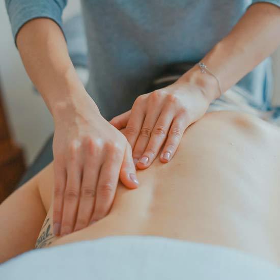 Massaggio schiena FisioOneCare